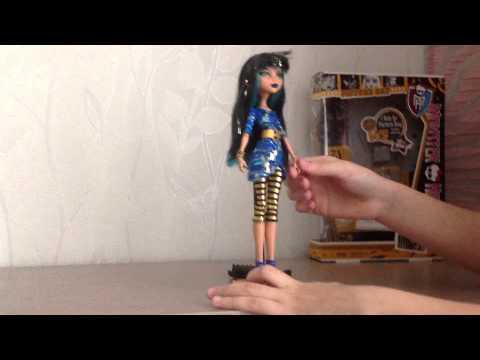 Обзор куклы Monster High Cleo De Nile Фотосессия