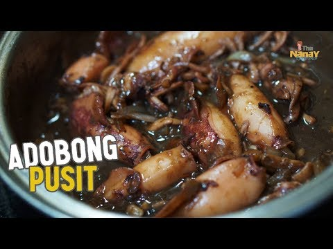 Easy To Cook Adobong Pusit