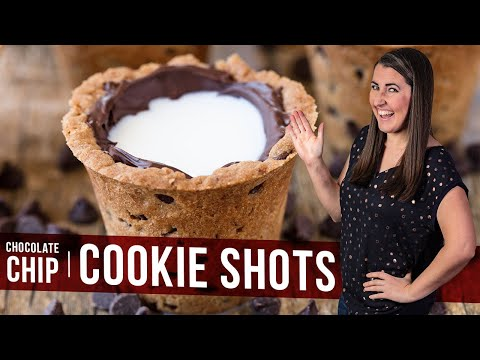 How to Make Chocolate Chip Cookie Shots