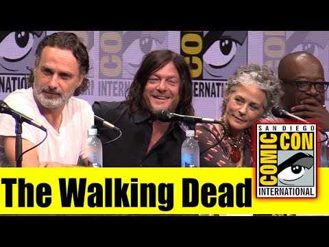 The WALKING DEAD  Comic Con 2017 Full Panel  Andrew Lincoln, Norman Reedus, Jeffrey Dean Morgan