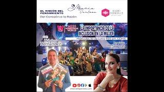 """""""LA INCLUSIÓN DE LA MUJER"""" #MISSWEELCHAIRWORLD con #HéctorHernández y #MaríaVentosa #MACAVZIM"""
