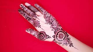 Latest Stylish and Easy Mehndi Design for Front Hand | Shimmi
