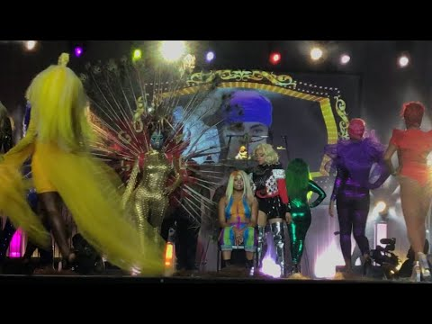 Bronner Bros. Hair Battle Front Row View | Gocha | Kevin Kirk | Jeanette Thompkins | Merlande