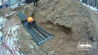 Прокладка кабельной линии