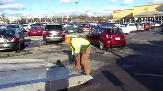 How To Get A Car Out Of A Busy Parking Lot
