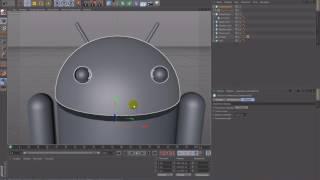Уроки Cinema 4D: Создание 3D логотипов Android и Apple
