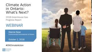 WEBINAR: Climate Action in Ontario: What's Next?