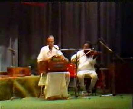 2.A performance with Hemant Mukherjee