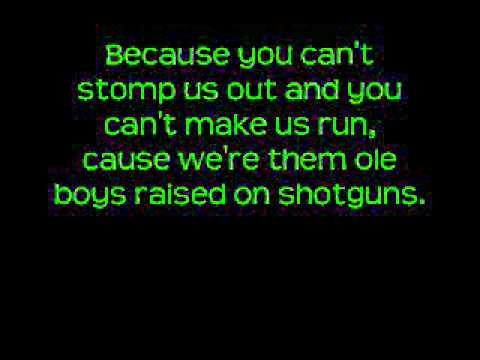 Country Boy Can Survive - Hank Williams Jr. ( w/lyrics )