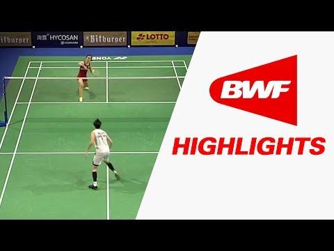 Bitburger Badminton Open 2017 | SF – Highlights