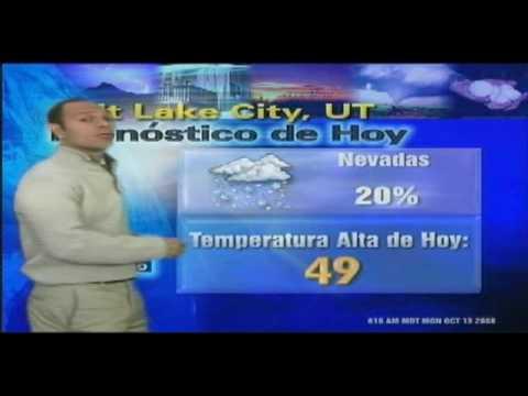 REPORTE DEL TIEMPO- LEONARDO GUTIERREZ MURILLO ( TELEMUNDO UTAH)