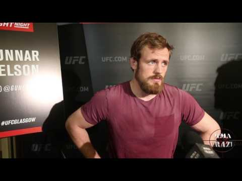 Gunnar Nelson looking for the sub or KO win over Santiago Ponzinibbio at UFC Fight Night Glasgow