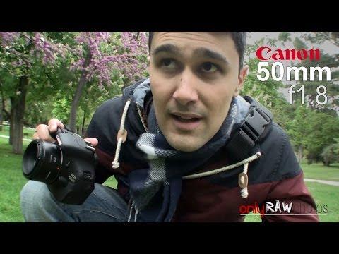 Probando Canon 50mm en exteriores (fotografiando por el parque El Retiro)