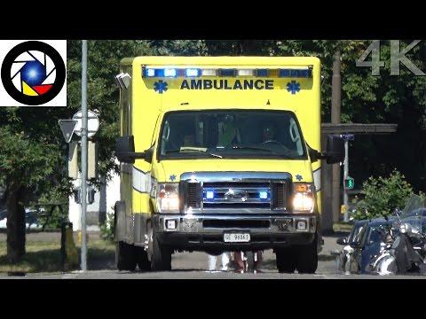 Ambulance 911 Genève