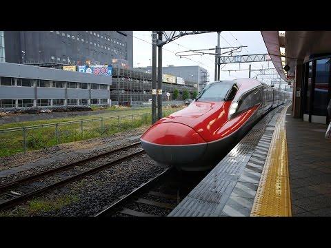 秋田新幹線 こまち26号 (E6系運行) 超広角車窓 大曲より進行左側 秋田~盛岡~上野・東京