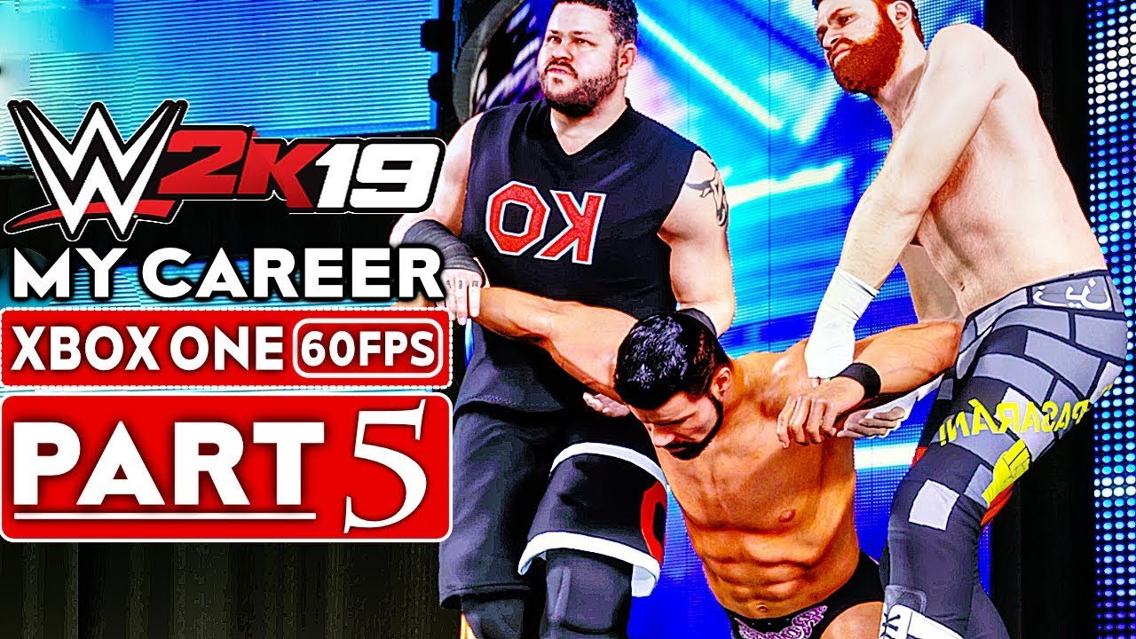 WWE 2K19 My Career Mode Gameplay Walkthrough Part 5 [1080p HD 60FPS Xbox One] - No Commentary