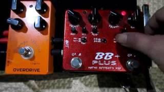 Gambar cover Caline Orange Burst VS Xotic BB+ Plus