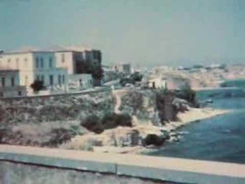 Chania Scenes, Agora, and Limani 1961