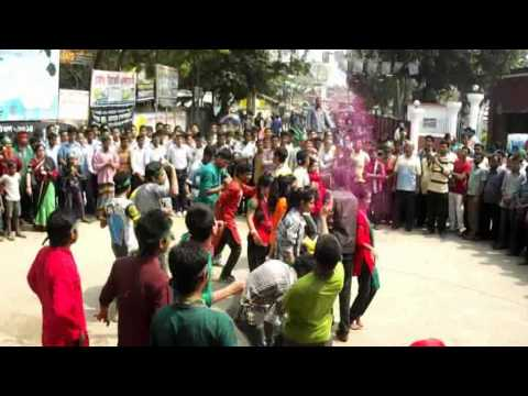 ICC T20 World Cup 2014 Theme Song Flash Mob by  Saidpur