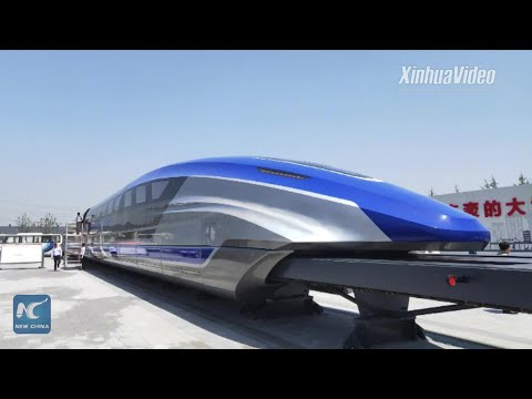 See China's Newly Unveiled Maglev Train