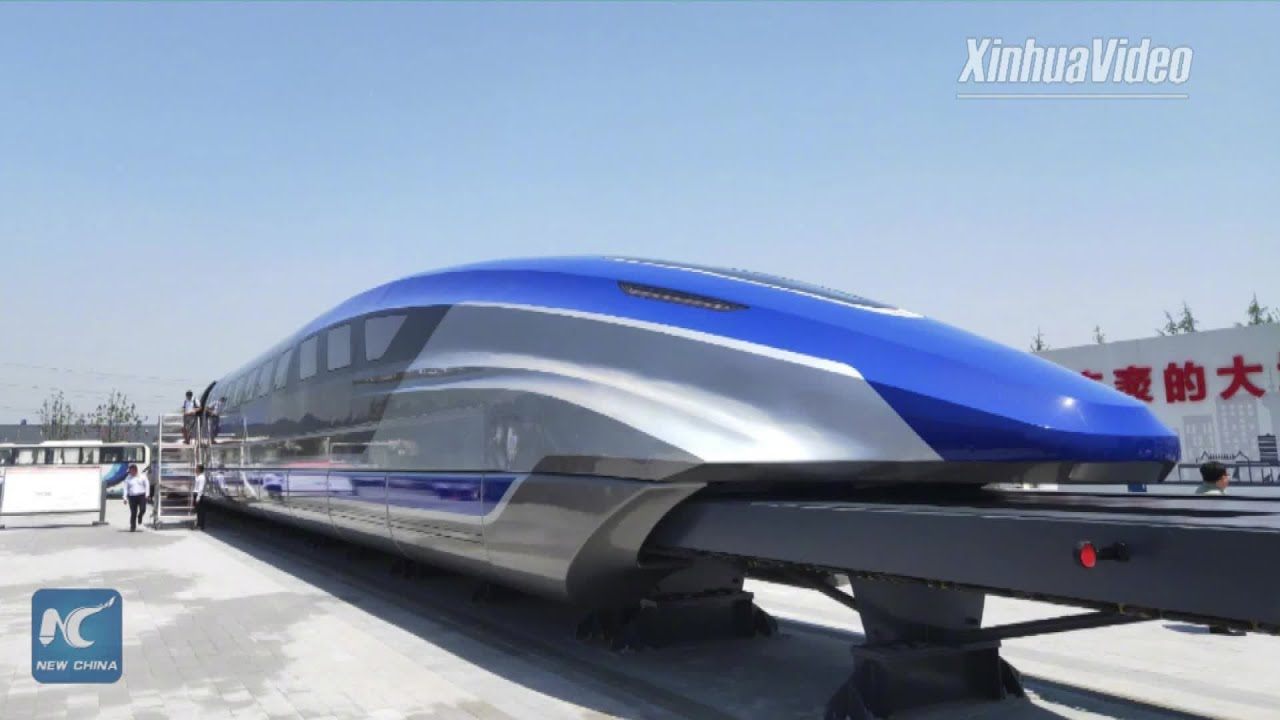Super fast! China unveils high-speed maglev train prototype