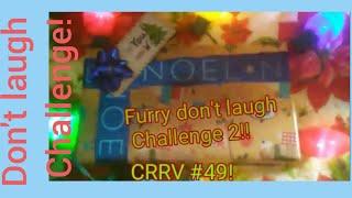 Blind reaction: Furry don't laugh challenge 2!