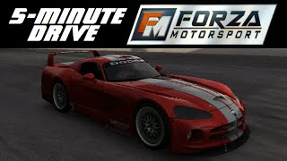 5-Minute Drive - Forza Motorsport - 2004 Dodge Viper Competition Coupe