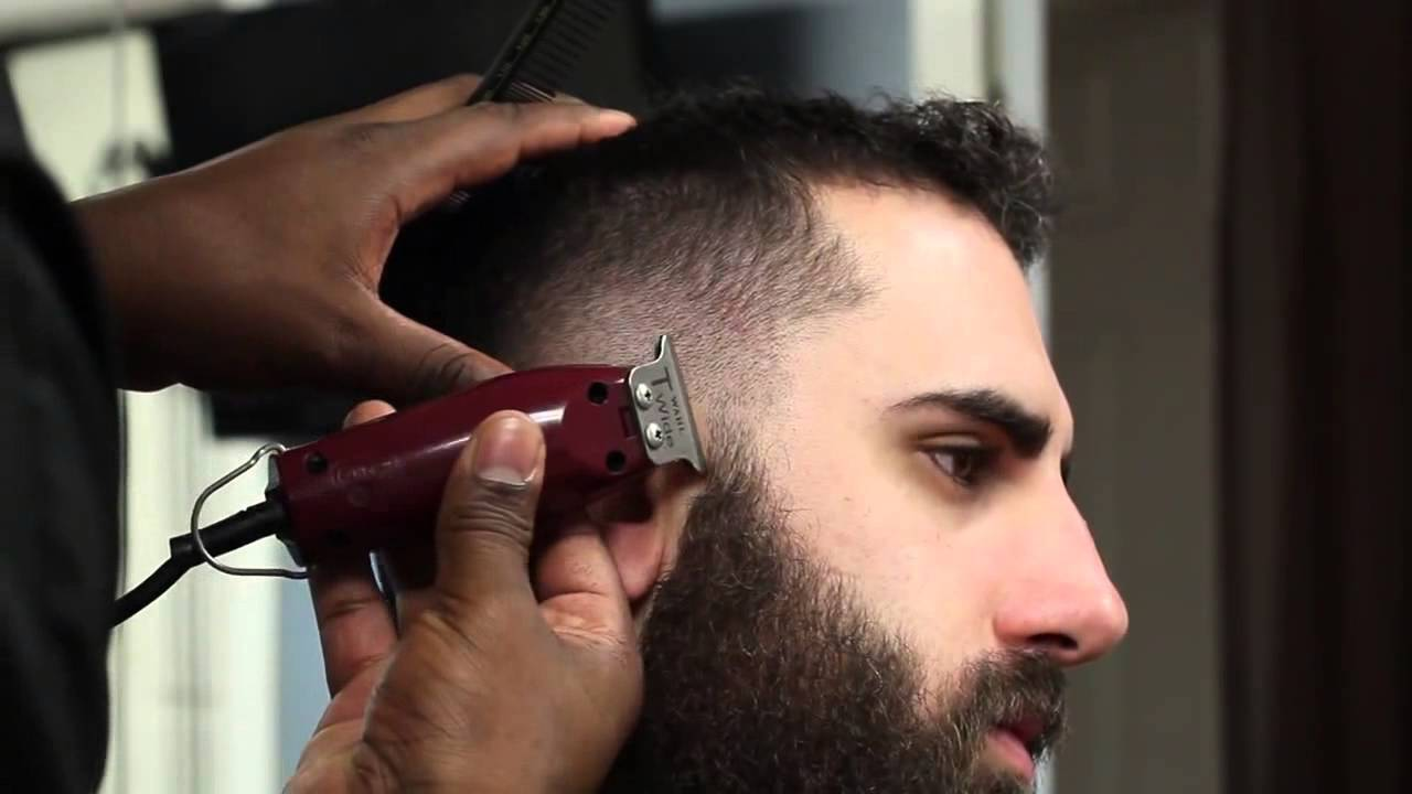 Corte Moicano E Barba Corte Masculino