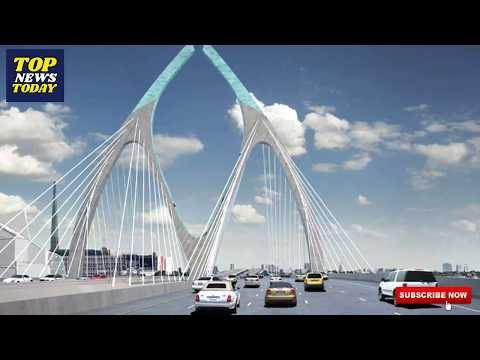 यस्तो बन्दैछ Signature bridge in Nepal || Bridge design