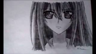 Speed drawing Yuki Kuran (Vampire Knight)