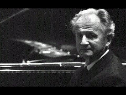 Wilhelm Kempff Performing Moonlight Sonata Movement One
