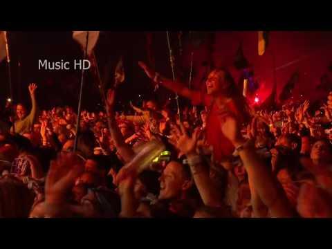 Coldplay Clocks Live at Glastonbury 2016