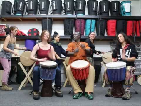 Drumskull Drums w/ Bolokada Conde & Women's Ensemble