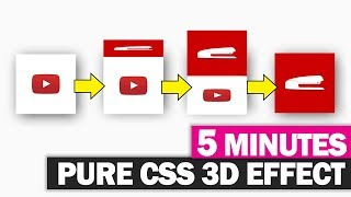 Pure CSS 3D Cube Effect 5 Minutes Tutorial