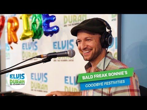 Ronnie's Emotional Goodbye Song | Elvis Duran Exclusive