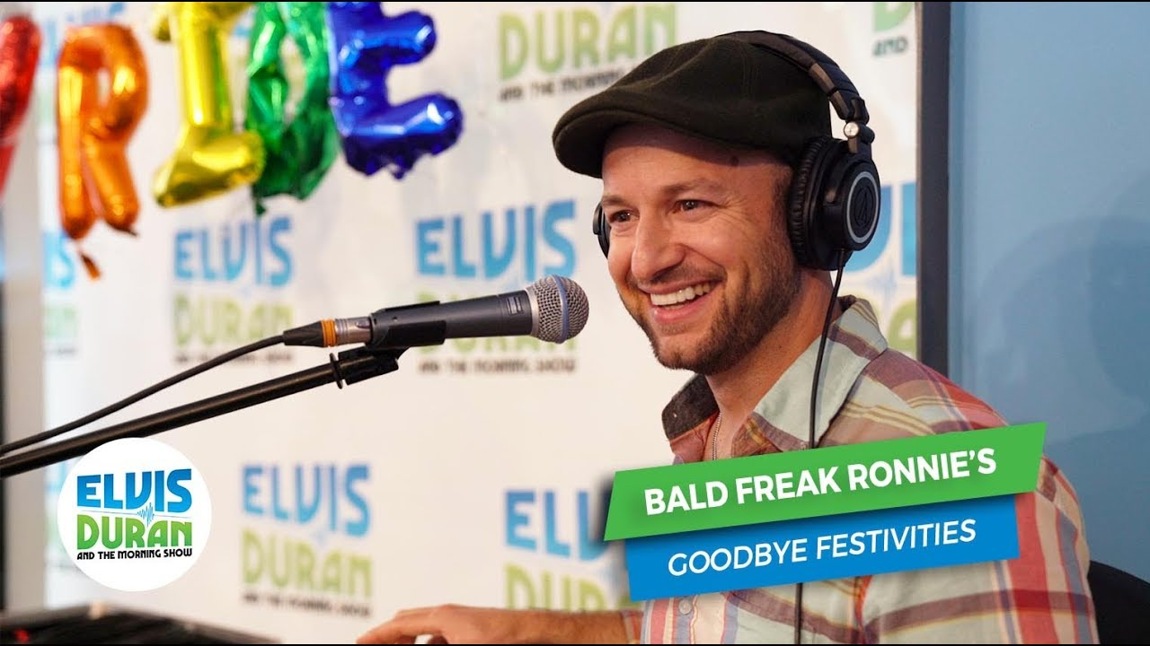 GOODBYE ELVIS DURAN, HELLO NPR - Bald Freak Music | Ron Scalzo