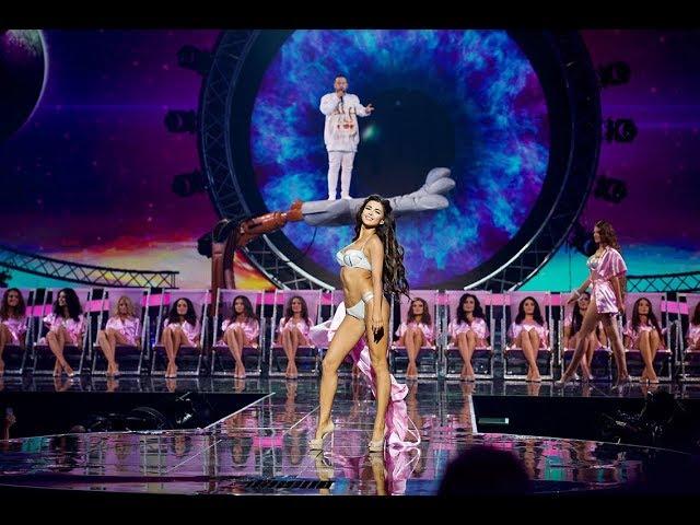 Финал Мисс Украина 2017: MONATIK – МОКРАЯ    Дефиле в купальниках