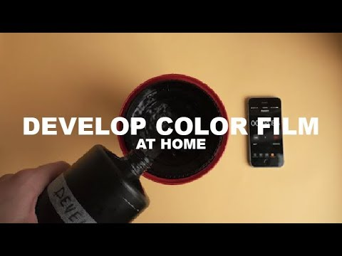 How I Develop Color Film at Home