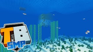 Truly Bedrock - Episode 7 - The Puffer Submarine Build Has Commenced! - Minecraft SMP