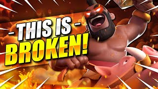 MY *NEW* FAVORITE DECK in CLASH ROYALE!! NO ONE EXPECTS THIS!! 😍