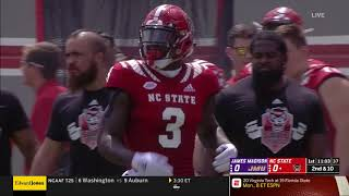 2018.09.01 James Madison Dukes at NC State Wolfpack Football