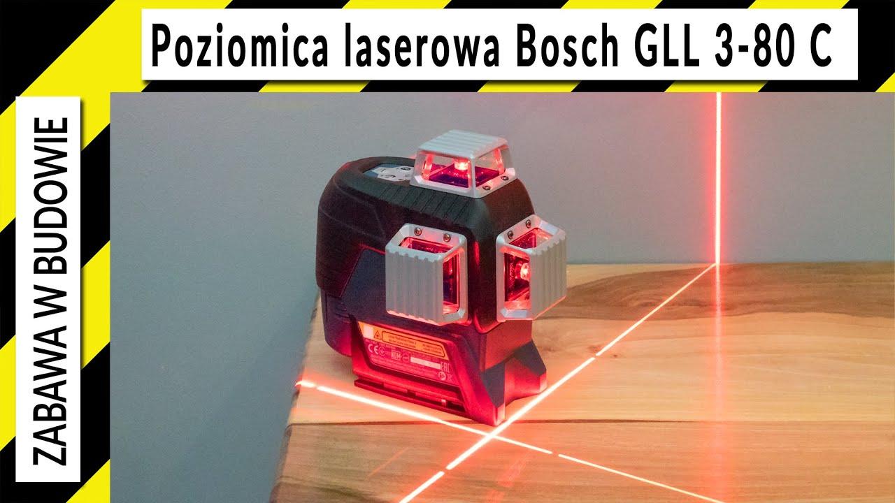 Poziomica laserowa Bosch GLL 3-80 C