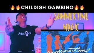 Childish Gambino - Summertime Magic (REACTION!!)