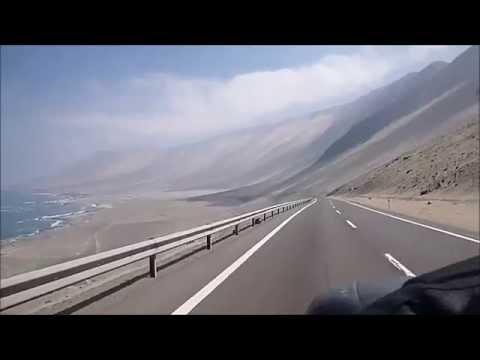 viagem de moto ao Chile Atacama e Iquique, com uma MT03