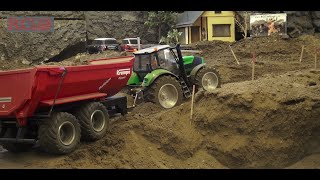 RCTKA August 2016 - different trucks and construction machines - part 2 - Deutz Fahr
