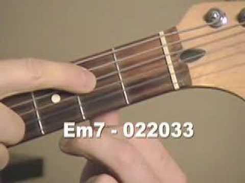 Guitar  Chord  em7