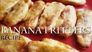 Banana Fritters / Ethaka Appam Recipe - Kerala Snack