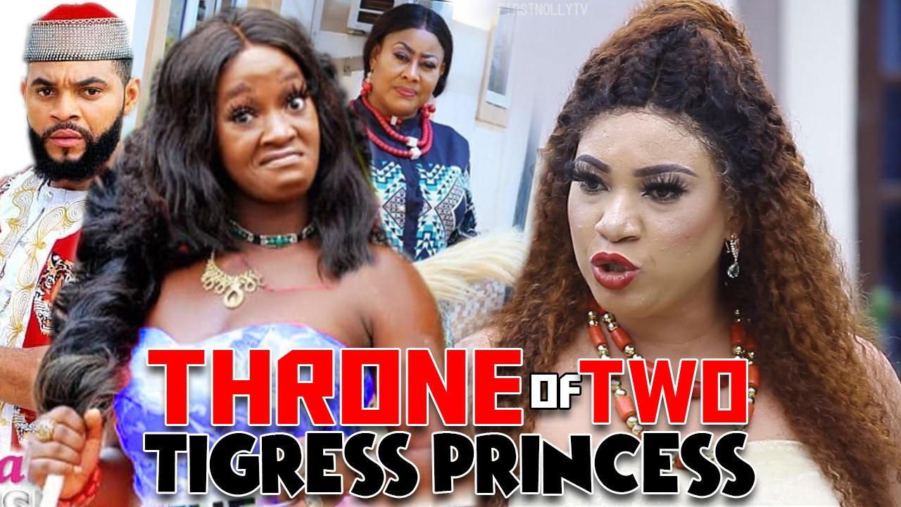 Download Throne Of 2 Tigress Princess Part 1&2 - Queeneth Hilbert & Luchy Donalds 20 Latest Nollywood Movies.