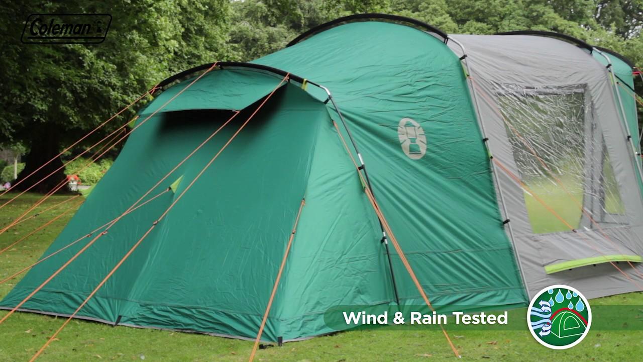 Coleman® BlackOut Bedroom Oak Canyon 4 Family C&ing Tent - EN & Coleman® BlackOut Bedroom Oak Canyon 4 Family Camping Tent - EN ...