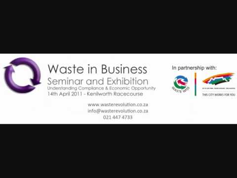 Waste in Business Cape Town SAFM interview of Lloyd Macfarlane by Stephen Kirker